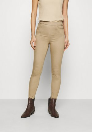 Jeggings - camel