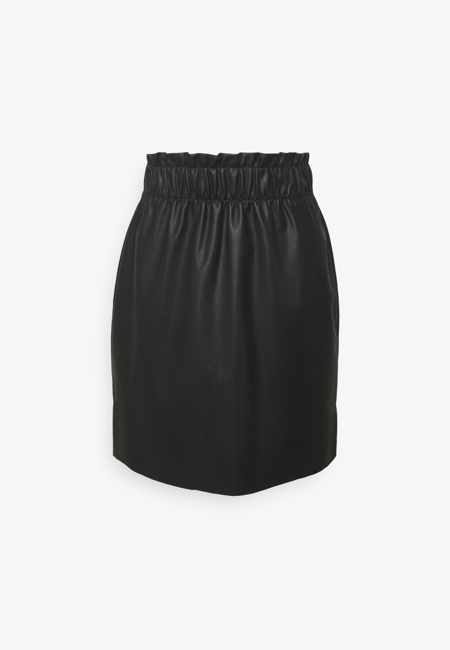 VMGWENRILEY PAPERBAG SKIRT - Minirock - black