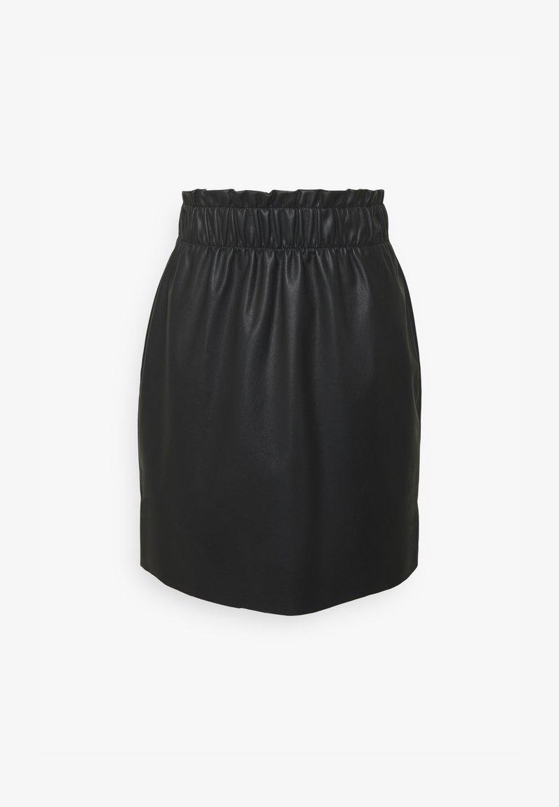 Vero Moda - VMGWENRILEY PAPERBAG SKIRT - Miniskjørt - black
