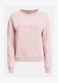 Guess - FRONTLOGO - Sweatshirt - beige - 3