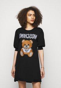 MOSCHINO - DRESS - Jersey dress - black - 0