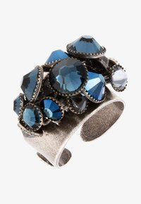 Konplott - Ring - blau/antiksilberfarben - 1