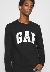 GAP - ARCH - Long sleeved top - true black - 3