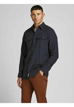 JORDARREN JAXON LS STS - Shirt - navy blazer