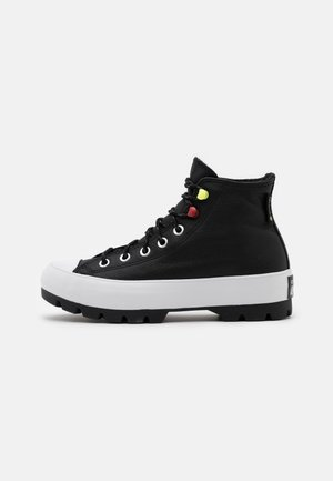 CHUCK TAYLOR ALL STAR MC LUGGED - Höga sneakers - black/white