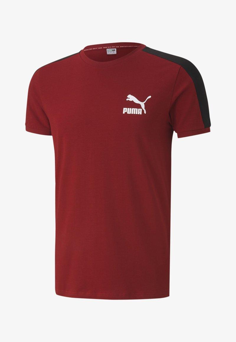 Puma - ICONIC SLIM - Sports shirt - red dahlia