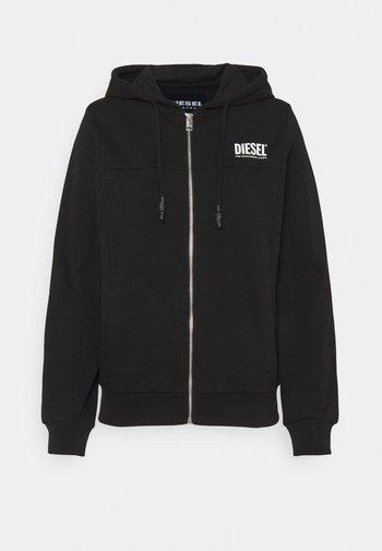VICTORIAL-HZ - Zip-up sweatshirt - black