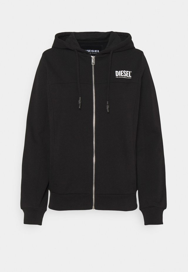 UFLT-VICTORIAL-HZ - veste en sweat zippée - black