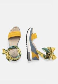 NeroGiardini - Platform sandals - grano - 2