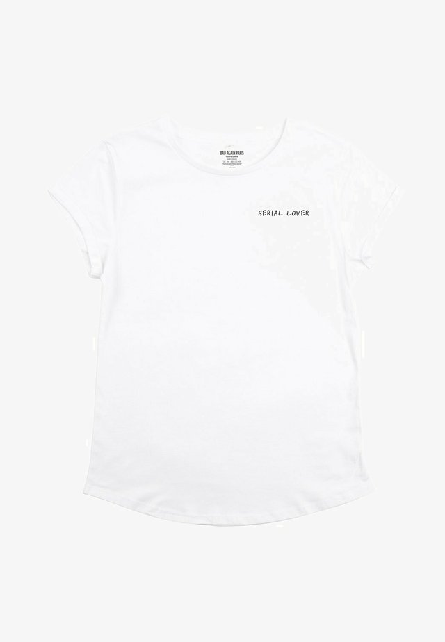 SERIAL LOVER - T-shirts print - white