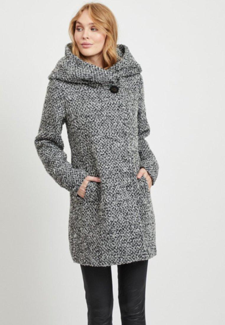 Vila - Short coat - light grey melange