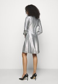 Lauren Ralph Lauren - DRESS - Cocktail dress / Party dress - dark grey/silver - 2