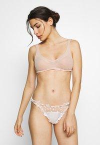 Le Petit Trou - BRIEFS RICHELLE - Slip - nude/white - 1