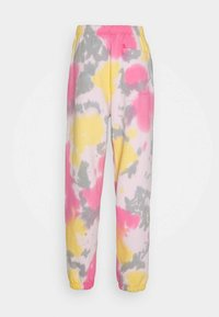 Obey Clothing - SUSTAINABLE TIE DYE - Tracksuit bottoms - yellow/multi - 1
