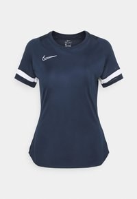 Nike Performance - T-shirt con stampa - obsidian/white - 5
