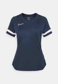 Nike Performance - Print T-shirt - obsidian/white - 5