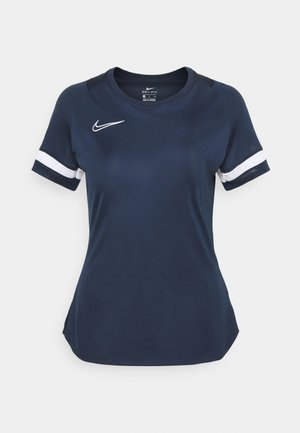 T-shirt imprimé - obsidian/white