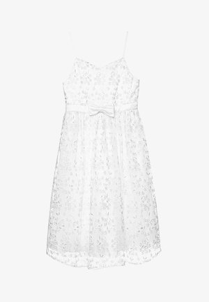 GIRLS INDIA DRESS - Cocktailkjole - white