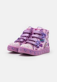 Skechers - TWI LITES - Zapatillas altas - pink/multicolor - 1