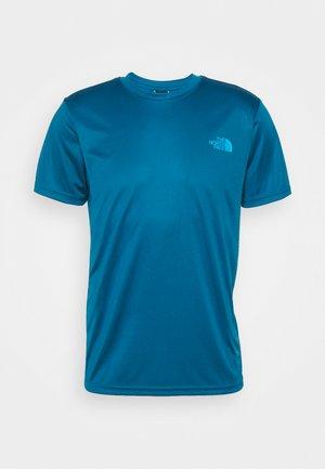 REAXION BOX TEE - Print T-shirt - moroccan blue
