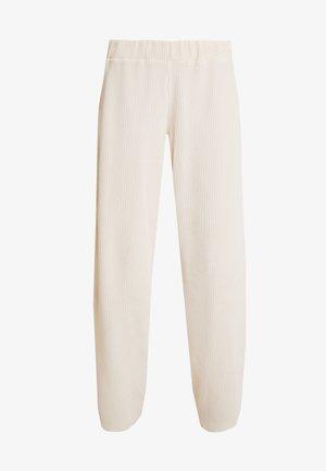 LILLIAN PANTS - Kalhoty - warm off white