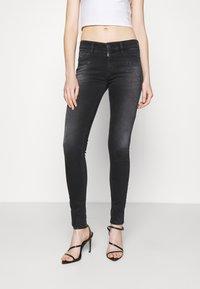 Diesel - SLANDY - Jeans Skinny Fit - dark grey - 0
