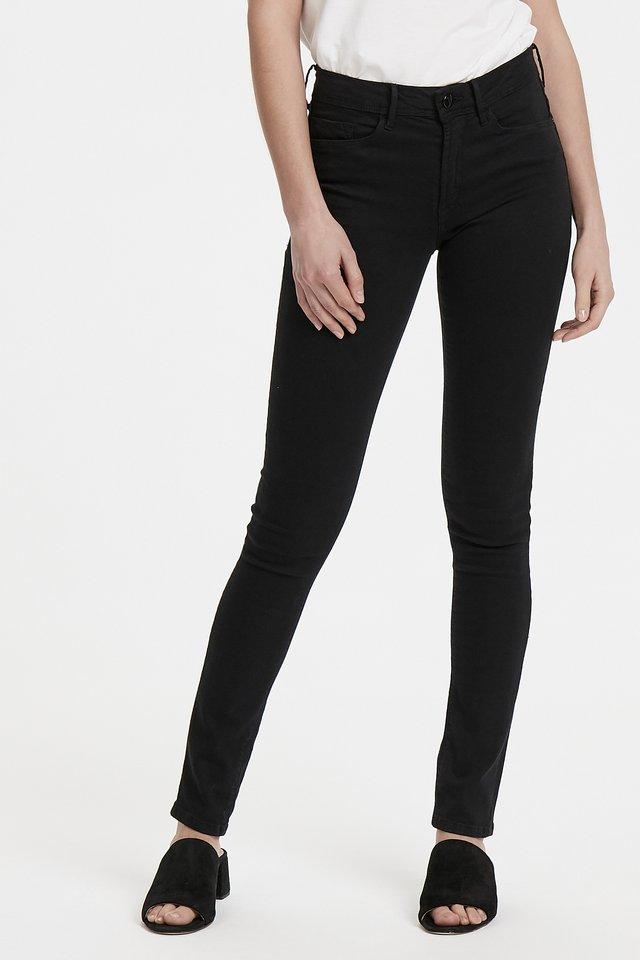 ERIN IZARO - Jeans slim fit - black
