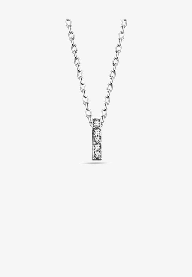 BUCHSTABEN I  - Necklace - silber