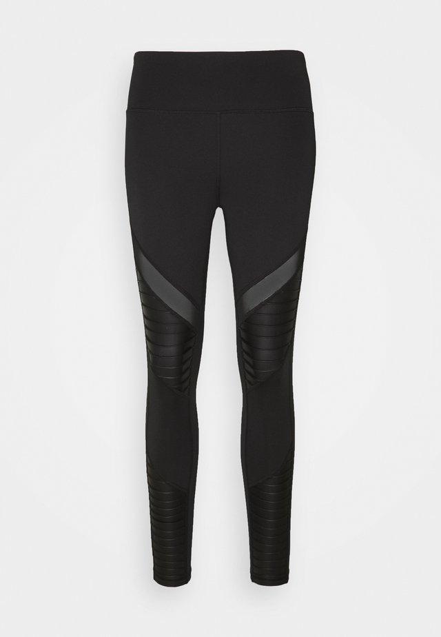 MOTO - Leggings - black