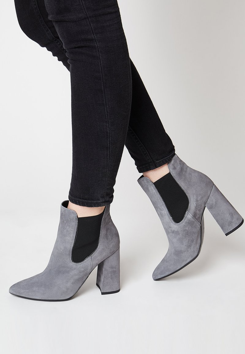 RISA - Classic ankle boots - grau