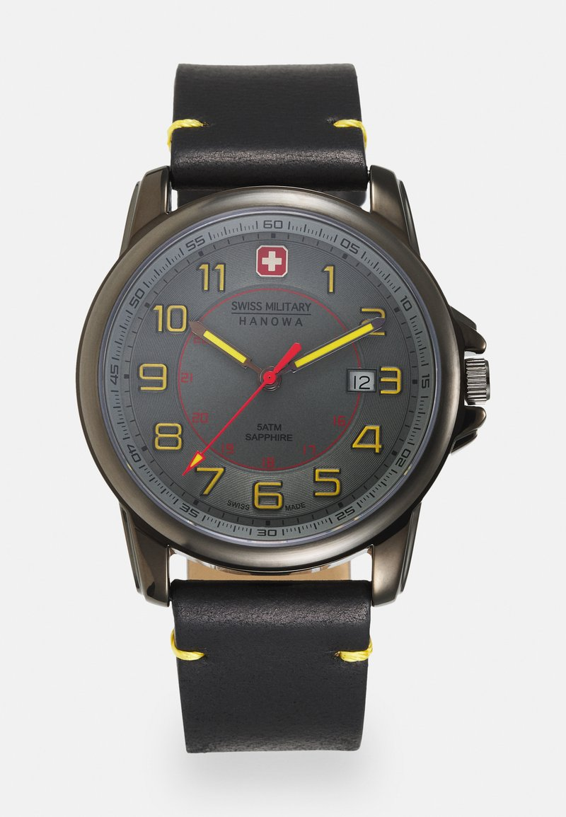 Swiss Military Hanowa - SWISS GRENADIER - Watch - black