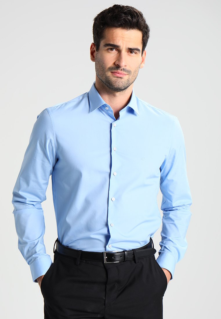Calvin Klein Tailored - BARI SLIM FIT - Formal shirt - blue
