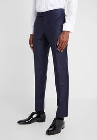 KARL LAGERFELD - SUIT TIGHT - Traje - dark blue - 4