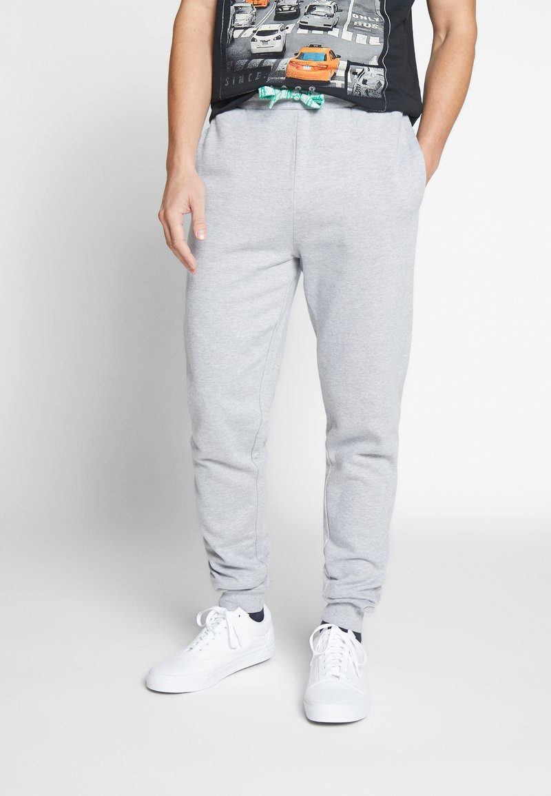 Only & Sons - ONSORGANIC SWEAT PANTS - Verryttelyhousut - medium grey melange