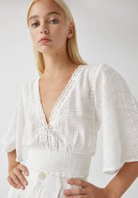 PULL&BEAR - Blouse - white - 4