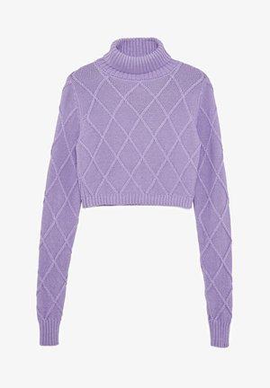 DUA LIPA X PEPE JEANS  - Jumper - violet