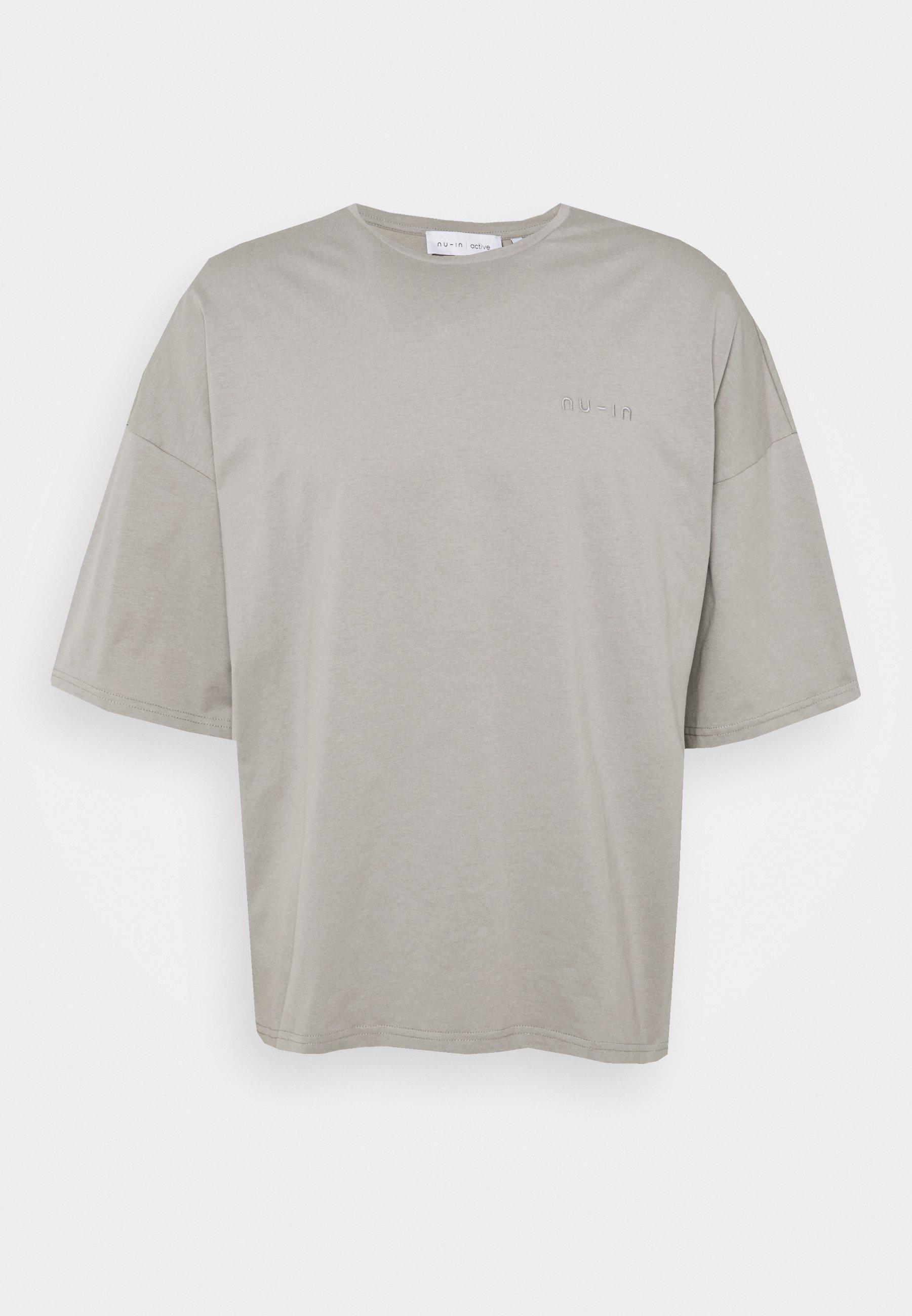 Men OVERSIZED CREW NECK - Basic T-shirt