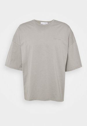 OVERSIZED CREW NECK - Basic T-shirt - grey