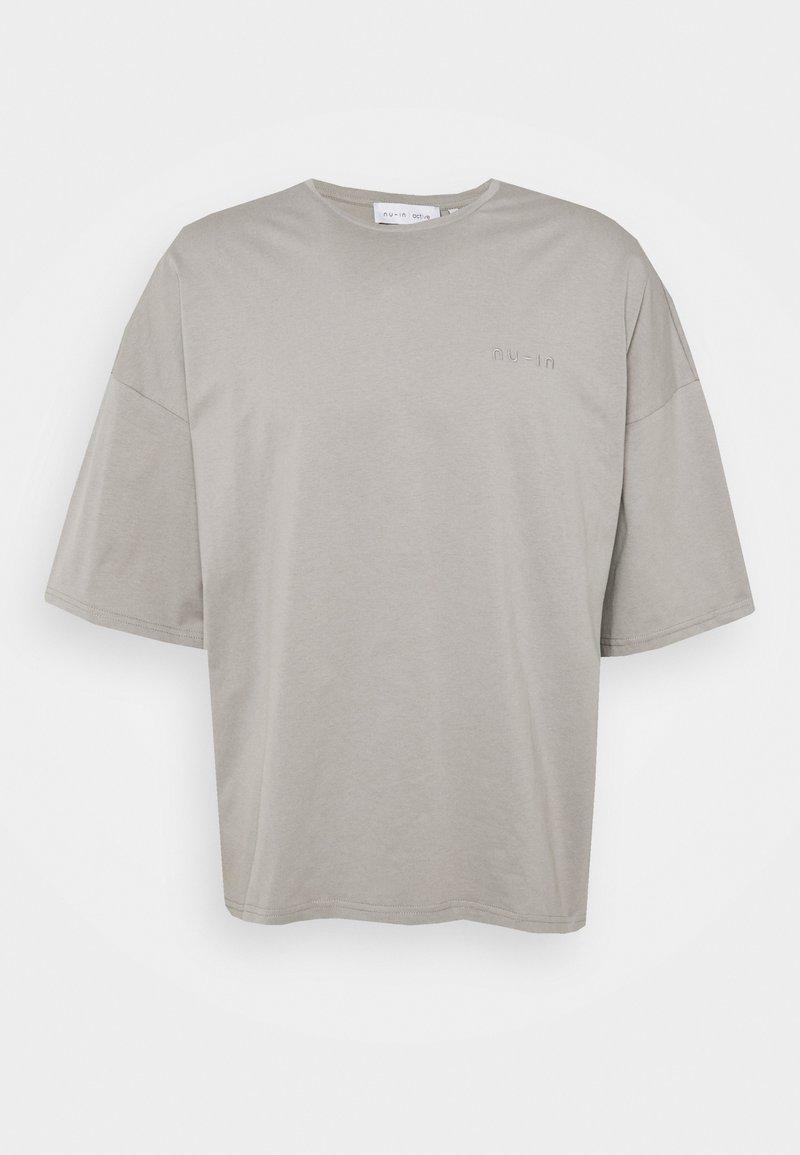 NU-IN - OVERSIZED CREW NECK - T-shirt basique - grey