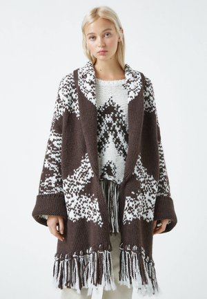 Cardigan - dark brown