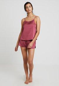 Anna Field - SET - Pyjamas - purple - 1