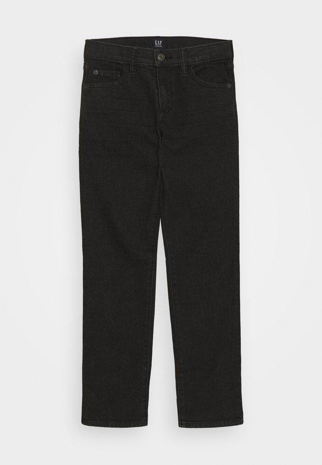 BOY SLIM - Slim fit jeans - black wash