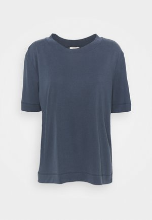 TEE - Basic T-shirt - navy