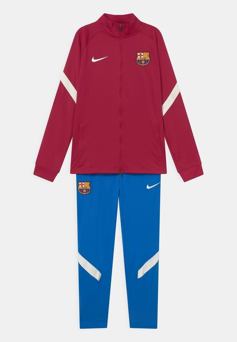Nike Performance - FC BARCELONA SET UNISEX - Club wear - noble red/soar/pale ivory