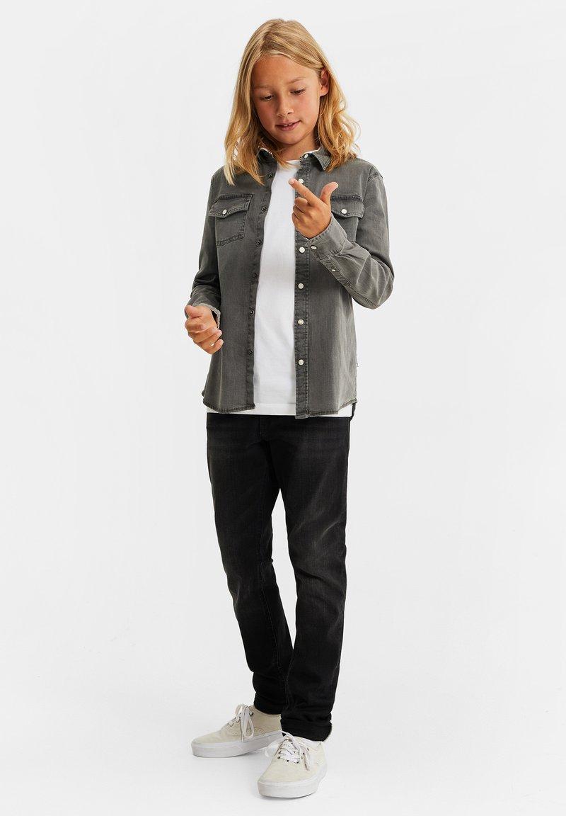 WE Fashion - Shirt - light grey