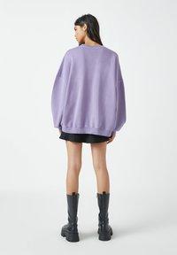 PULL&BEAR - Sweatshirts - purple - 2