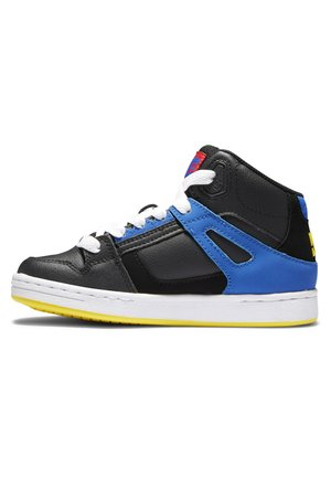 High-top trainers - black/multi