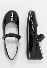 Melania - Ankle strap ballet pumps - black - 0