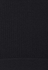 Cotton On Body - SEAMFREE CROP BRALETTE SEAMFREE HIGH CUT BRASILIAN - Trusser - black - 4