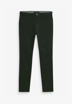 SLIM FIT - Chino kalhoty - mottled green